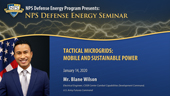 Tactical Microgrids: Mobile and Sustainable Power