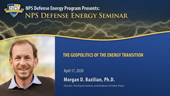 The Geopolitics of the Energy Transition