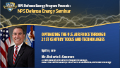 Optimizing the U.S. Air Force through 21st Century Tools and Technologies