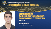 An Introduction to Digital Real-Time Simulation (DRTS) for Advanced Energy System Testing