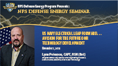 US Navy Electrical Leap Forward... A Vision for the Future ONR Technology Development