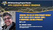 Reducing the Use of Expeditionary Energy in the United States Marine Corps: A Behavioral Change Appr
