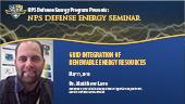 Grid Integration of Renewable Energy Resources