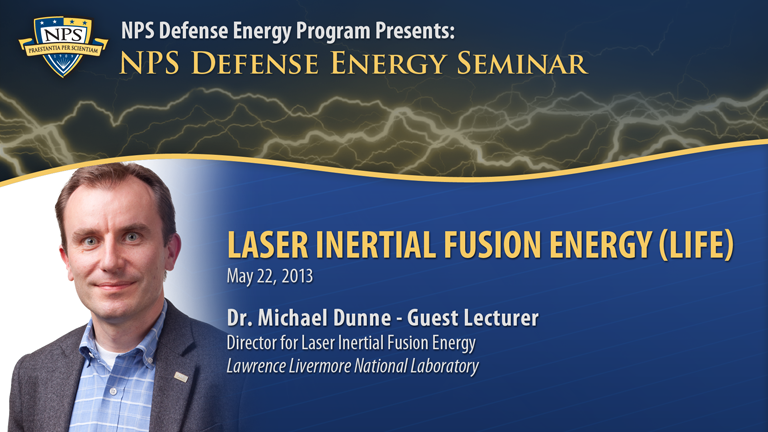 Laser Inertial Fusion Energy (LIFE)