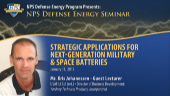 NPS Defense Energy Program Presents: Defense Energy Seminar