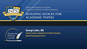 Building Blocks for Academic Papers