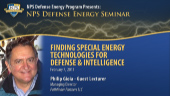 Finding Special Energy Technologies for Defense & Intelligence