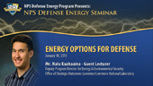 Energy Options for Defense