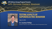 Testing Aspects of Superdielectric Behavior