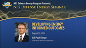 Developing Energy Informed Outcomes