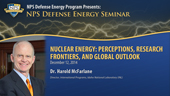 Nuclear Energy: Perceptions, Research Frontiers, and Global Outlook