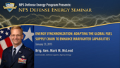 Energy Synchronization: Adapting The Global Fuel Supply Chain To Enhance Warfighter Capabilities