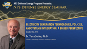 Electricity Generation Technologies, Policies, and Systems Integration: A Biased Perspective