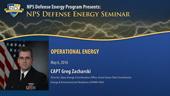 Operational Energy