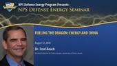 Fueling the Dragon: Energy and China