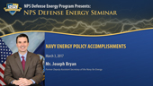 Navy Energy Policy Accomplishments