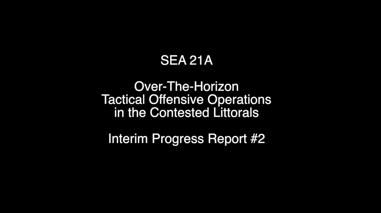 Over-The-Horizon Tactical Offensive Operations in the Contested Littorals