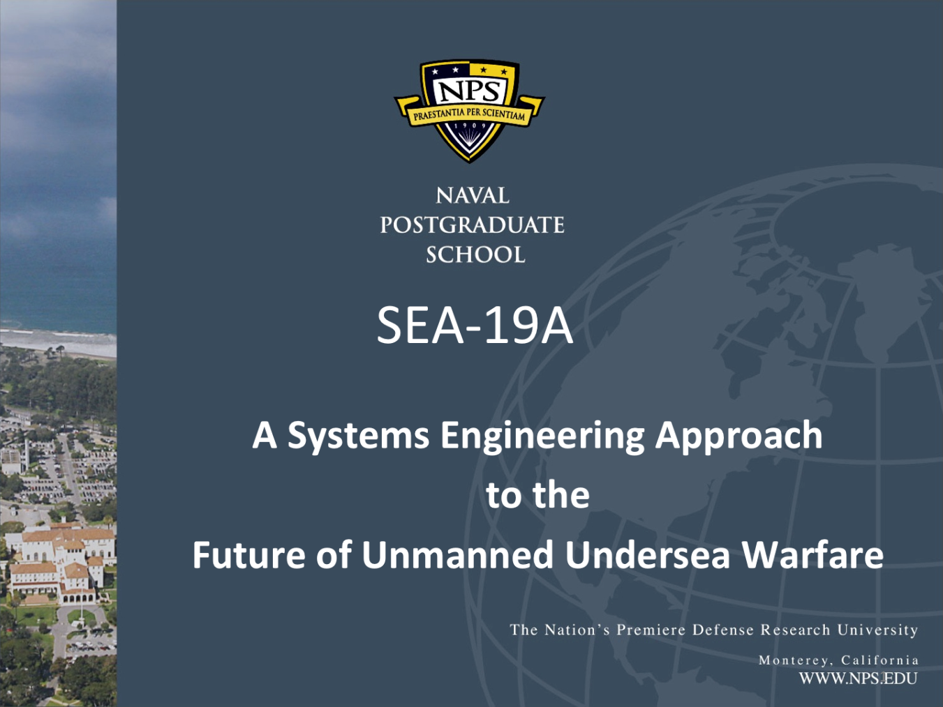 A Systems Engineering Approach to the Future of Unmanned Undersea Warfare
