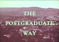The Postgraduate Way