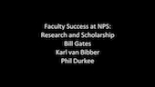 Faculty Success at NPS: Research and Scholarship (Part 3)