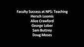 Faculty Success at NPS: Teaching (Part 5)