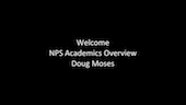 Welcome - NPS Academics Overview (Part 1)
