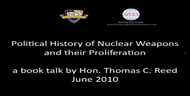 Political History of Nuclear Proliferation