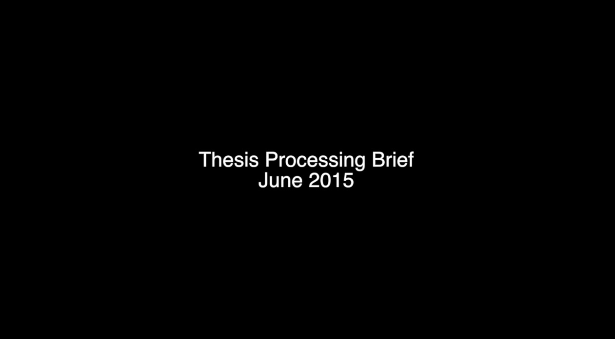 click the image to watch thesis brief