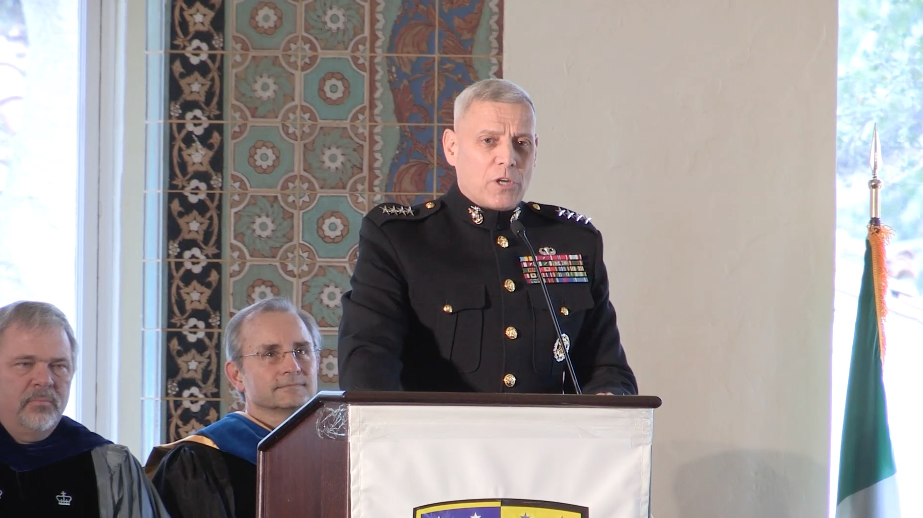 Naval Postgraduate School Graduation Ceremony GSOIS/GSBPP