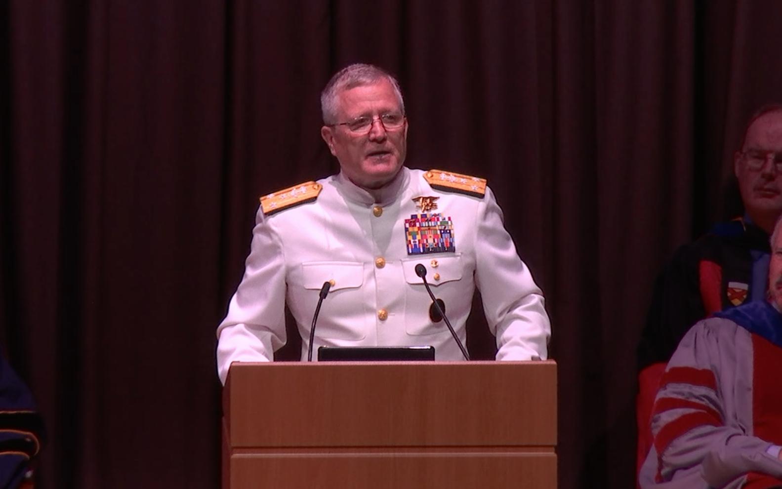 Naval Postgraduate School Graduation Ceremony