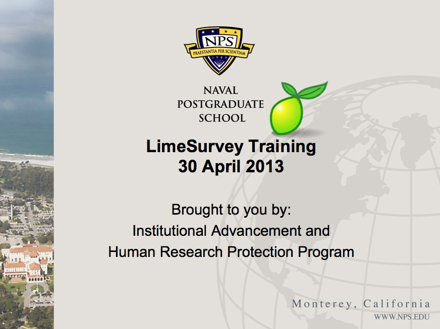 LimeSurvey Training