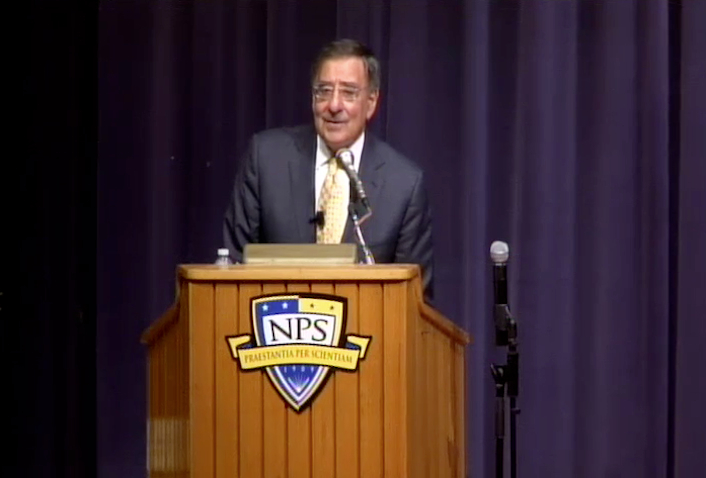 Secretary of the Navy Guest Lecture Series presents Secretary of Defense Leon E Panetta