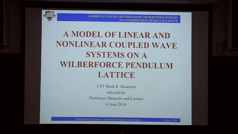 A Model Of Linear And Nonlinear Behavior Of Coupled Wave Systems   On A Wilberforce Pendulum Lattice