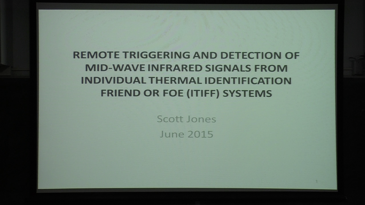 Remote Triggering And Detection Of Mid-Wave Infrared Signals From Individual Thermal Identification