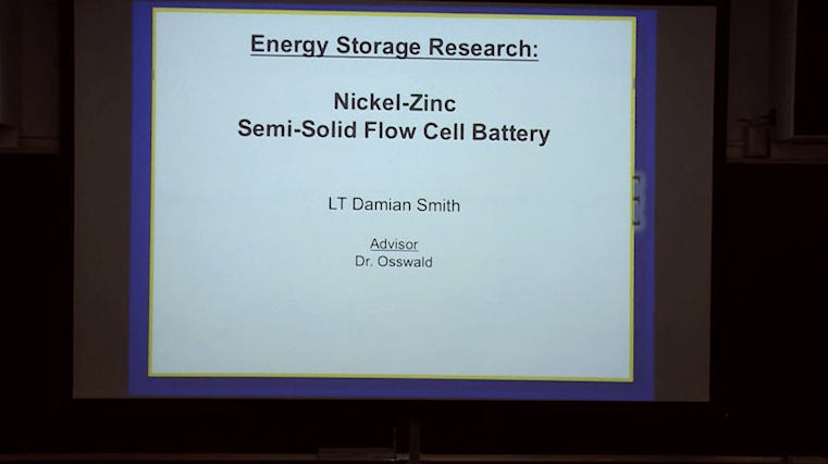 Nickel-Zinc Semi-Solid Flow Cell Battery