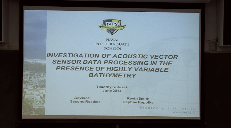 Investigation Of Acoustic Vector Sensor Data Processing In The Presence  Of Highly Variable Bathymet