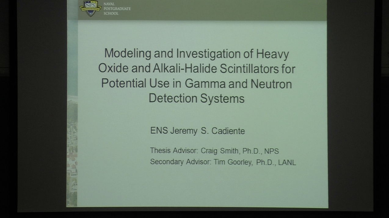 Modeling And Investigation Of Heavy Oxide And Alkali-Halide Scintillators For Potential Use In Gamma