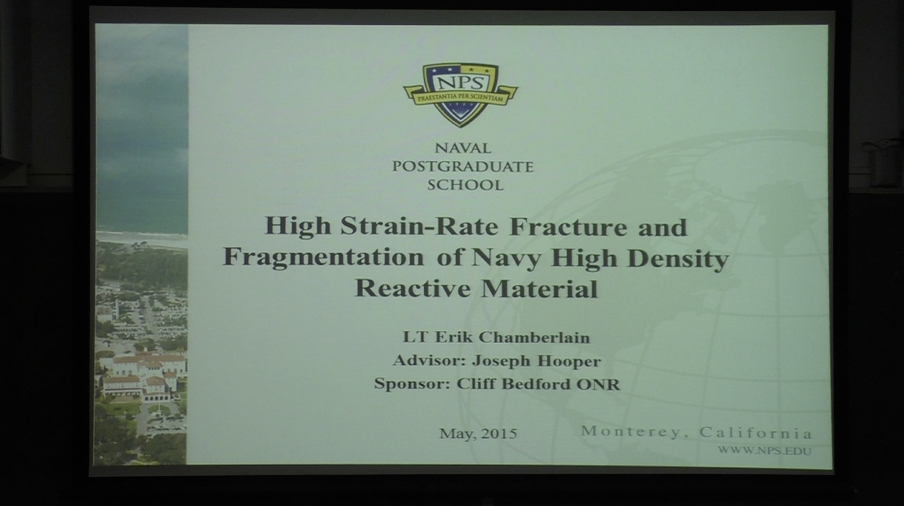 High Strain-rate Fracture and Fragmentation of Navy High Density Reactive Material