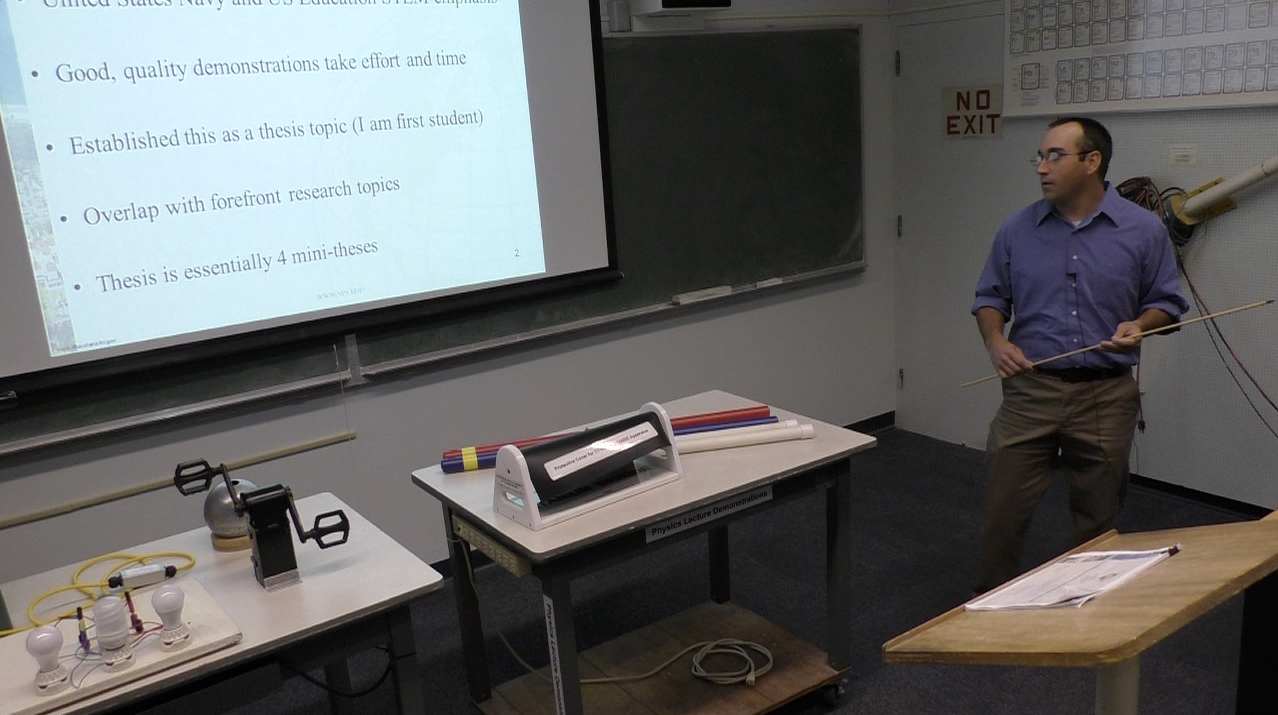 Development of Physics Lecture Demonstrations