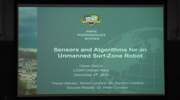 Sensors and Algorithms for an Unmanned Surf-Zone Robot