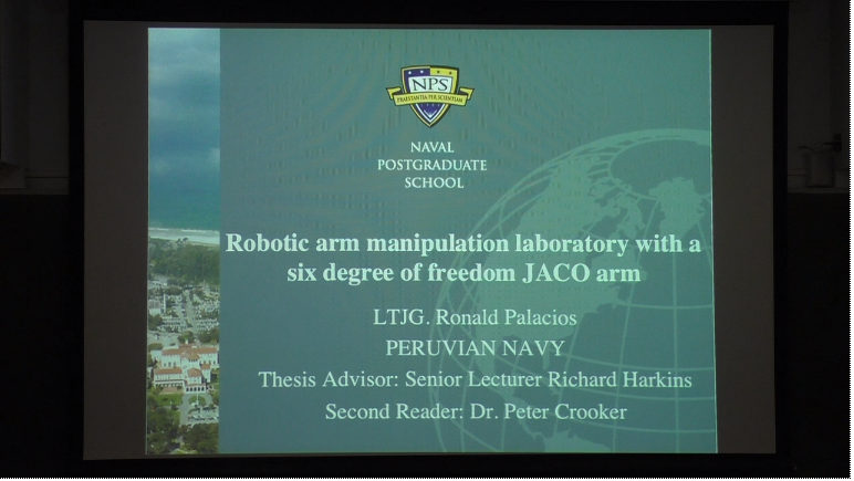 Robotic Arm Manipulation Laboratory with a Six Degree of Freedom JACO Arm