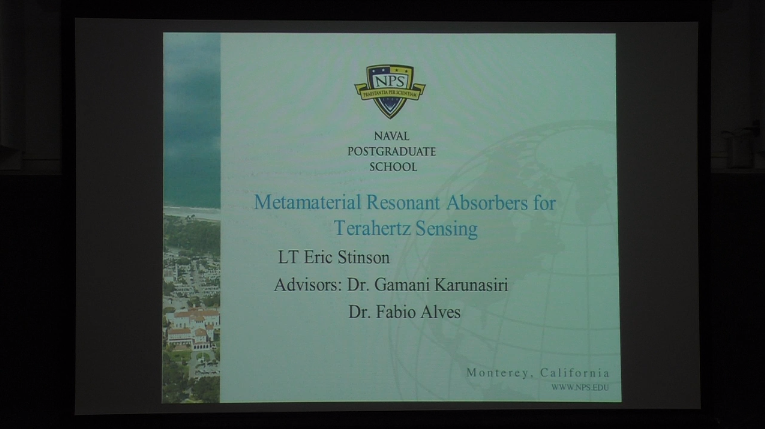 Metamaterial Resonant Absorbers For Terahertz Sensing